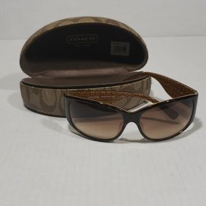 Coach Madeline Sunglasses And Hard Case
